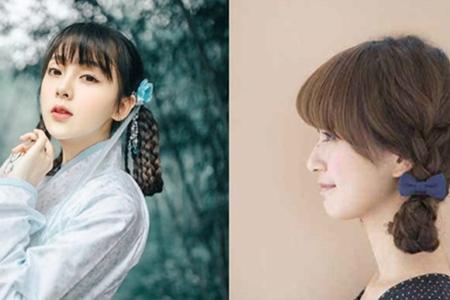 【图】短发古风发型教程 简单易打造让你变身美人