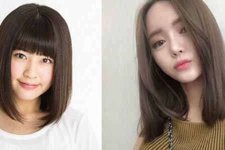 【图】齐锁骨短发直发图片 做一个清纯简单的女生
