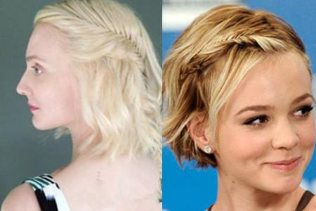 【图】短发造型怎么弄 学会编辫子很重要