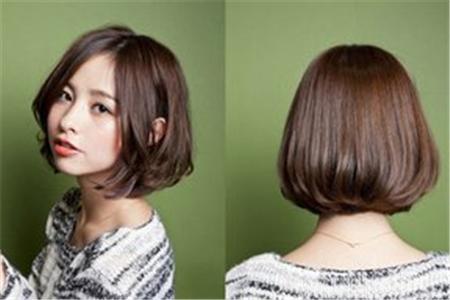 【图】齐耳发型内扣动漫教你做一个精致头像带字非主流女生短发图片