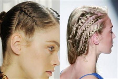 【图】贴头皮的辫子编法图解 让你的发型不乏味