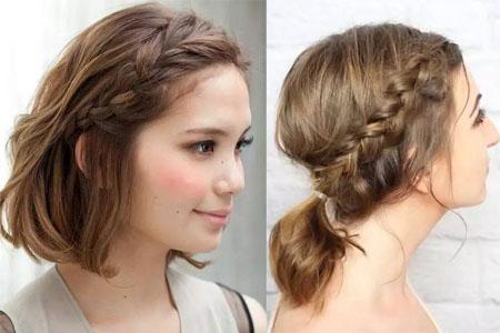 【图】齐肩短发怎么编发好看 五款发型教程