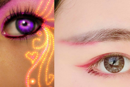 【图】眼角花纹图片观看 揭晓女人美丽的方法