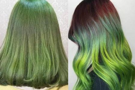 【图】暗墨绿色头发 教你轻松打造时尚发型