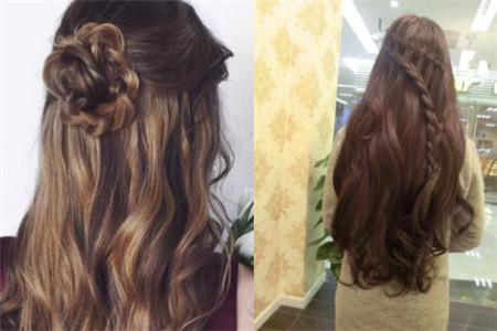 美容 发型 diy发型 / 正文  长头发编发其实也是特别好看的,如果编的