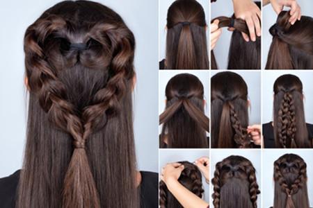 【图】短发古装发型怎么梳 简单几步就完成图片