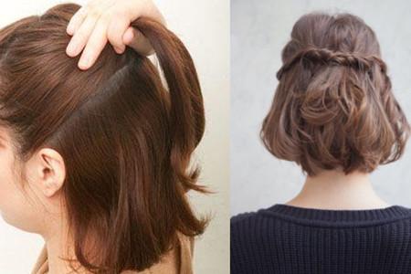 【图】齐肩短发怎么编发好看 这几种发型很适合你