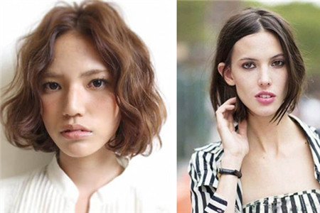 短发齐耳圆脸打造a短发头型可爱风女生的时尚扎法图片图片