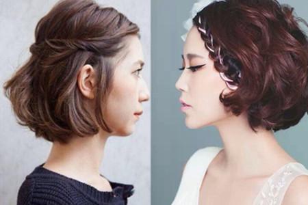 【图】齐耳发型扎改变展示新风图解发型岁30短发女人白发图片