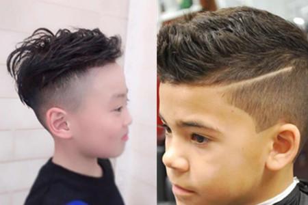 【图】男童发型短发铲两边 时尚经典让你炫酷帅气_童_
