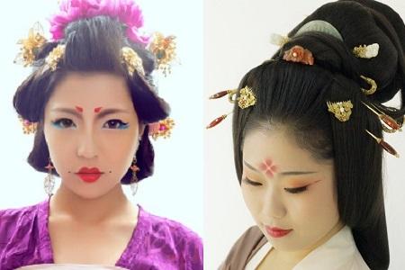 【图】揭秘潮流妆容的魅力 唐妆特点有哪些图片