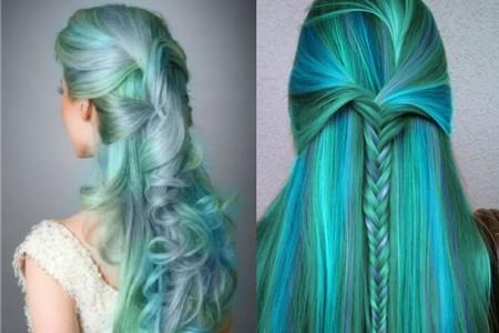 【图】闷青色渐变头发图片 实用染发参考