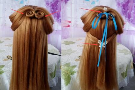 【图】古人扎头发的技巧 教你简单的编发方法