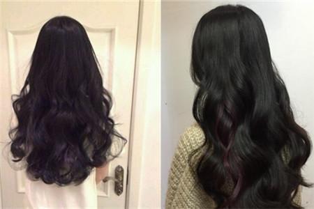 【图】几款漂亮的黑色头发烫卷发 让女性光芒四射图片