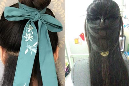 【图】简易古风发型教程 让你变身小仙女