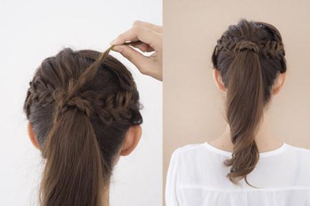 美容 发型 流行发型 / 正文  不要紧贴头皮编辫子的目的是为了可以
