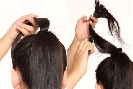 【图】蝴蝶结头发怎么扎 简单几步让你快速上手