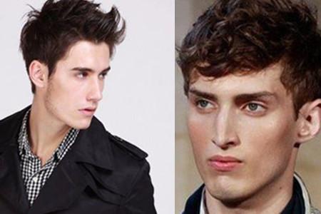 额头高适合什么发型男 给你不同选择图片