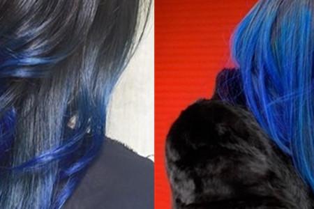 蓝黑色头发发型 给你介绍几个好看的造型