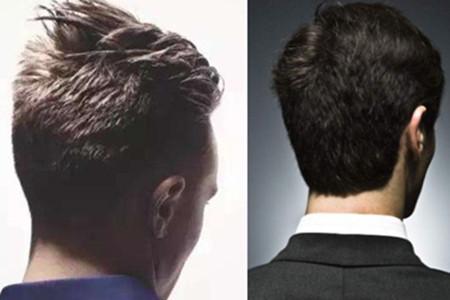 男生后脑勺发型 散发时尚和层次感