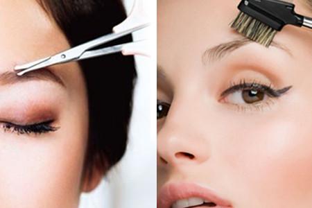【图】自带眉梳修眉剪刀怎么用 教你如何画出合适自己