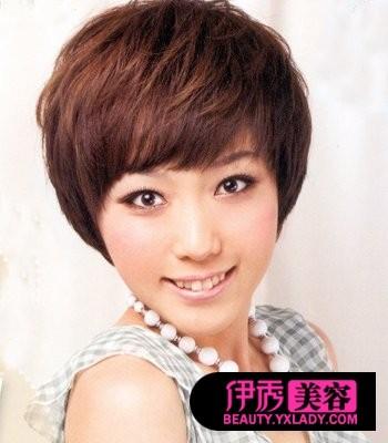 流行短发+今年最流行的短发型