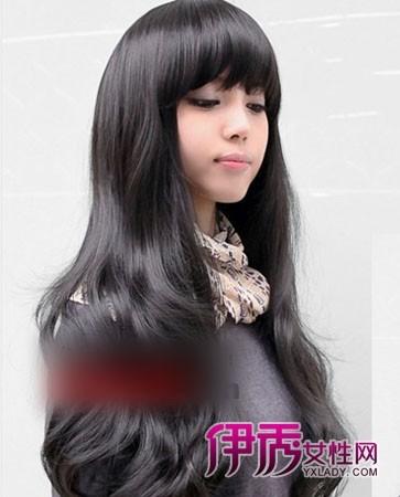 瓜子脸|发型与脸型|额头窄适合什么发型|卷发发型|小