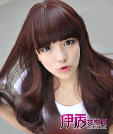 瓜子脸女生适合的发型 瓜子脸女生 发型 瓜子脸 发型 女生发型绑扎方法图片