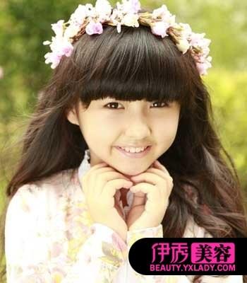 儿童时尚发型视频 秀出小女生纯真个性