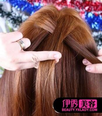 种头发的步骤_编头发的步骤及图片
