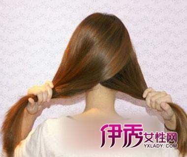 长发发型扎法步骤图片