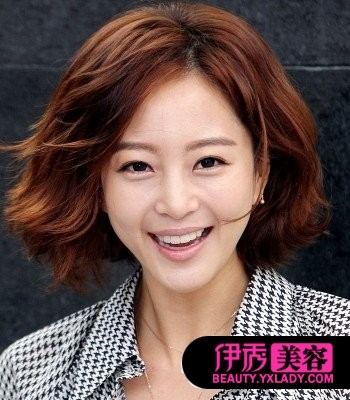 韩国女生中长发型图片大全 女生时尚中长发烫发的种类图片