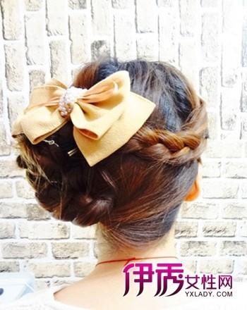 【图】盘发发型 最新的韩式盘发发型扎法