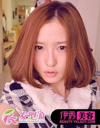 梨花+bobo头短发 娇美发型欣赏