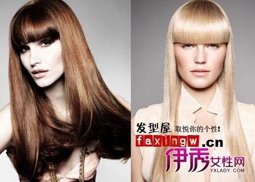 2011长发沙宣发型图片分享 强调3d立体时尚图片