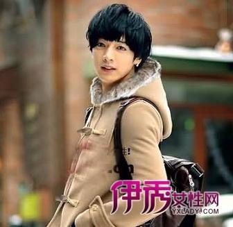 刘海流行发型男士发型韩国男士流行发型