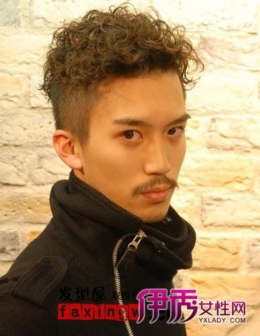 发型站 男生发型 男士短发_发型设计