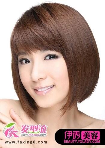 个性的一款好看的女生短发发型