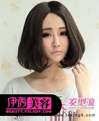 戚薇最新款短发发型