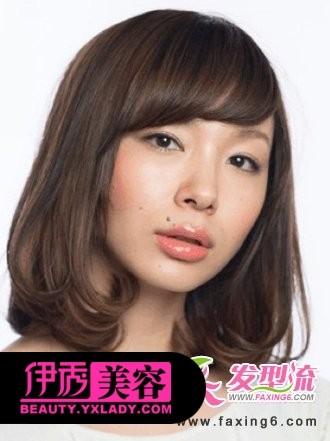 中短梨花烫发型图片图片大全 2011梨花烫发型图片