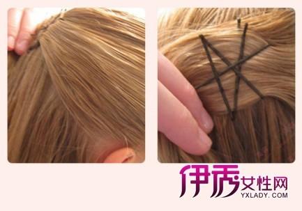 diy 发型打造欧式复古盘发