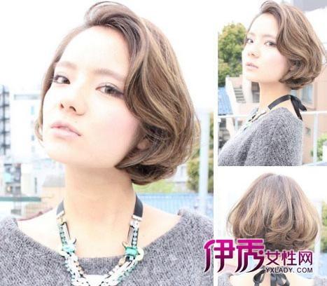 【图】短发卷发发型图片