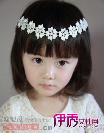 女孩可爱发型扎法打造超萌小公主