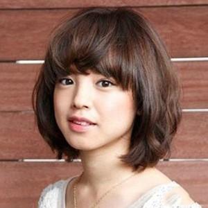 可爱短发发型图片2014女图片