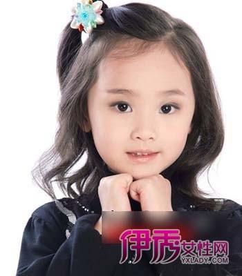 儿童可爱短发发型图片欣赏