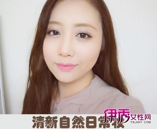 韩式 新娘妆容 韩式 盘发 韩式 发型 韩式 妆容图片