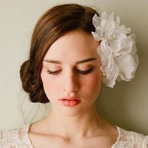 新娘结婚当天发型图片图片