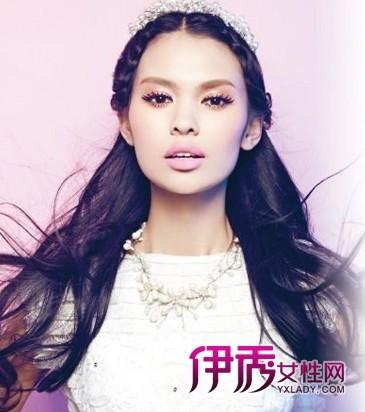 5款简单韩式新娘发型教程_流行发型_美容-伊秀女性网