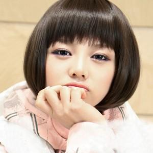 2014/5/8 11:19:33 脸圆适合什么发型,这款女生圆脸适合的发型,时尚图片