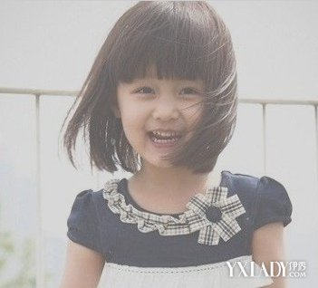 【图】小学生短发发型图片 扮甜美小萝莉